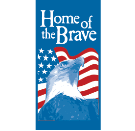 Home of the Brave - Kalamazoo Banner Works