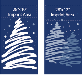Winter Pines - Kalamazoo Banner Works