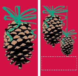 Pine Ornaments - Kalamazoo Banner Works