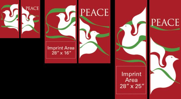 Doves of Peace - Kalamazoo Banner Works
