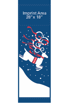 Ribbon Reindeer - Kalamazoo Banner Works