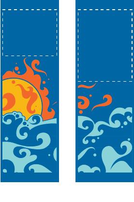 Swirling Sun - Kalamazoo Banner Works