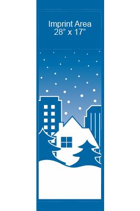 Snowy City - Kalamazoo Banner Works