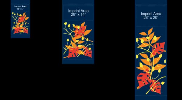 Leaf Collage - Kalamazoo Banner Works