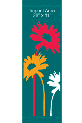 Painted Daisies - Kalamazoo Banner Works