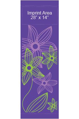Psychedelic lilies - Kalamazoo Banner Works