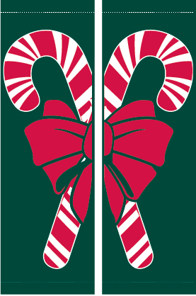 Candy Canes Set- Kalamazoo Banner Works