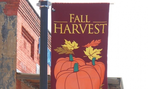 Get a Head Start on Fall with Light Pole Banners