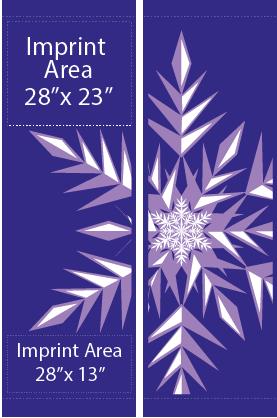 Double Victorian Snowflake - Kalamazoo Banner Works