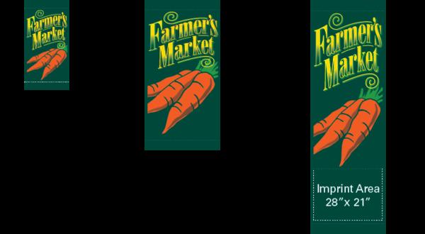 Farmers Market - Carrots - Kalamazoo Banner Works
