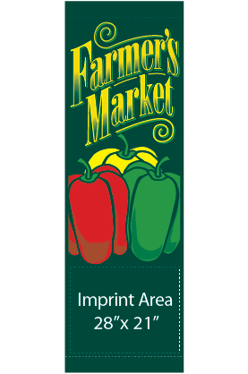 Farmers Market - Peppers - Kalamazoo Banner Works