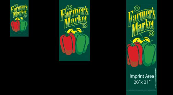 Farmers Market - Peppers - Kalamazoo Banner Works