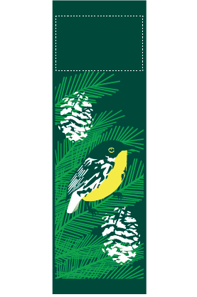 Evergreen Branch - Kalamazoo Banner Works