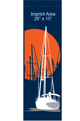 Sailing Harbor - Kalamazoo Banner Works