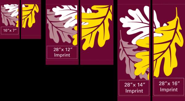 Oak Leaves (Set) - Kalamazoo Banner Works