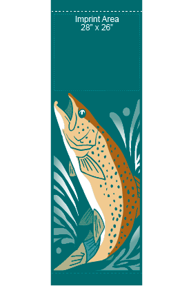 Trout - Kalamazoo Banner Works