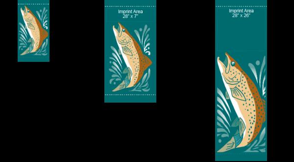 Trout - Kalamazoo Banner Works