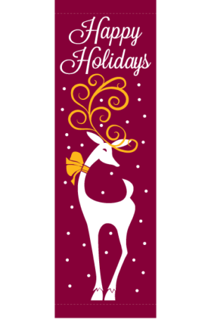 Holiday Reindeer - Kalamazoo Banner Works