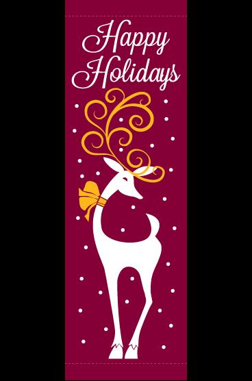 Holiday Reindeer - Kalamazoo Banner Works