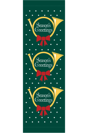 Season's Greetings Horns - Kalamazoo Banner Works
