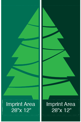 Set Evergreen Tree - Kalamazoo Banner Works