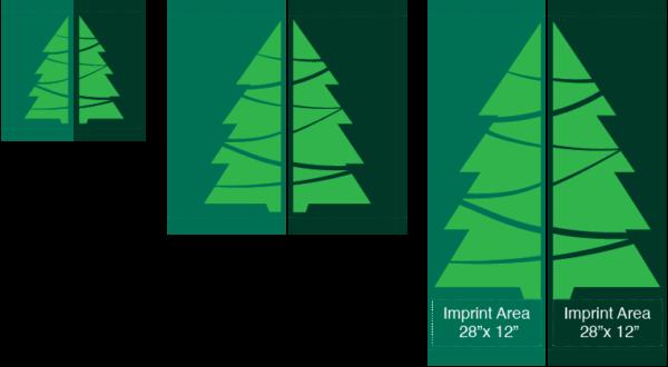 Set Evergreen Tree - Kalamazoo Banner Works