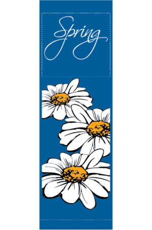 English Daisies - Kalamazoo Banner Works