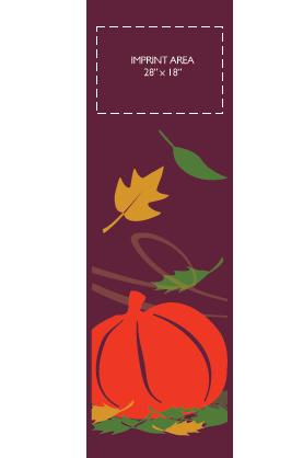 Fall Pumpkin - Kalamazoo Banner Works