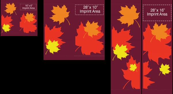 Falling Leaves - Street Banners - Fall - Kalamazoo Banner Works