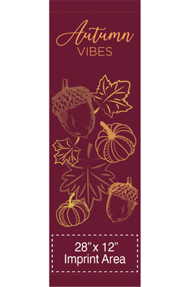 Autumn Vibes - Fall - Street Banner - Kalamazoo Banner Works