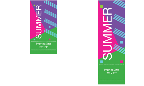 Display the Spirit of Summer with Digitally-Printed Banners