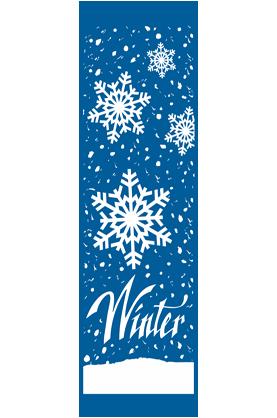 Kalamazoo Banner Works - Winter Snowflakes