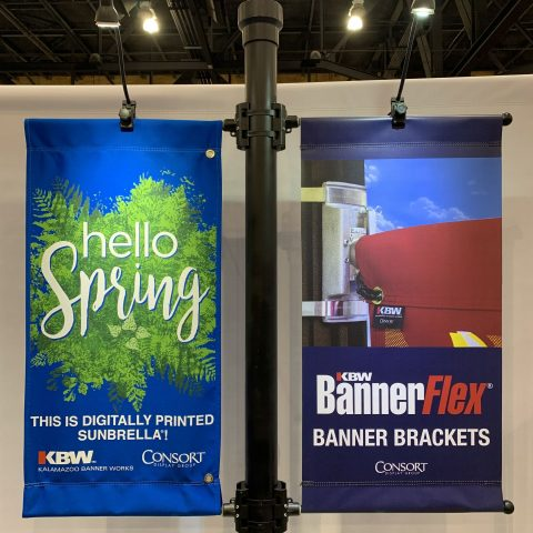 Digitally Printed Banners hanging