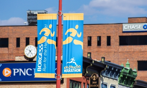Street Events are the Perfect Opportunity for Street Banners
