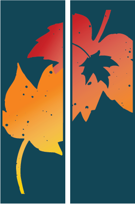 Double Autumn Splendor - Kalamazoo Banner Works
