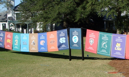 Host Sports Tournaments in Style by Screen Printing Banners
