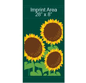 Fancy Sunflowers - Kalamazoo Banner Works