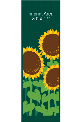Fancy Sunflowers - Kalamazoo Banner Works
